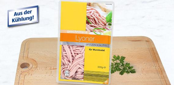 Lyoner, geschnitten, Juli 2010