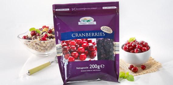 Cranberry-Vielfalt, Juli 2010