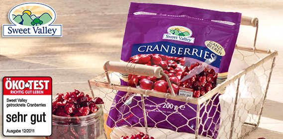 Cranberry-Vielfalt, Oktober 2012