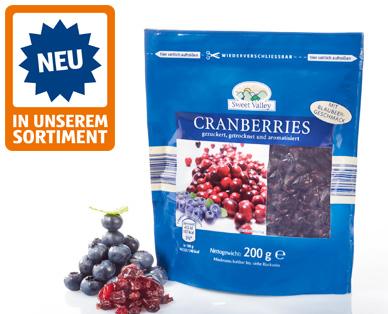 Cranberry-Vielfalt, September 2014