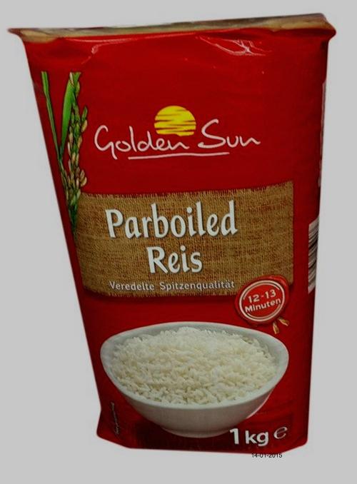 Reis parboiled, Januar 2015