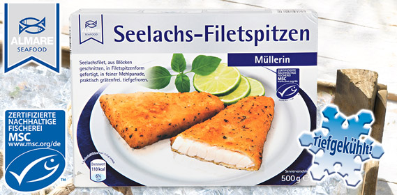 Seelachs-Filetspitzen, M�rz 2011