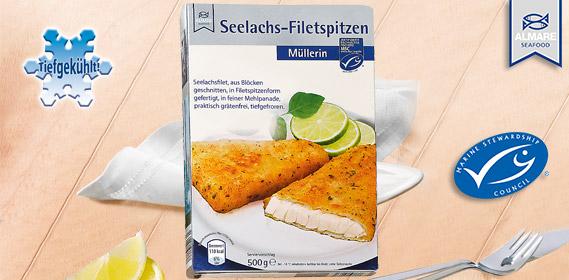 Seelachs-Filetspitzen, Januar 2012