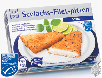 Seelachs-Filetspitzen, M�rz 2014