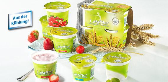 Joghurt, L.aktiflor, 4x 125 g, September 2010