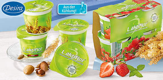 Joghurt, L.aktiflor, 4x 125 g, April 2012