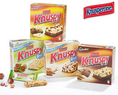 Knuspy Müsli-Riegel, 8er, Januar 2015