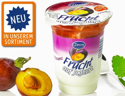Frucht auf Joghurt, September 2013
