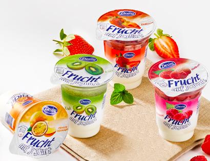 Frucht auf Joghurt, Januar 2014