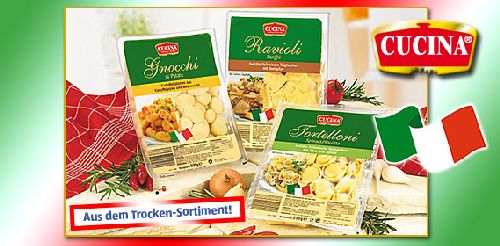 Gefüllte Pasta oder Gnocchi, November 2007