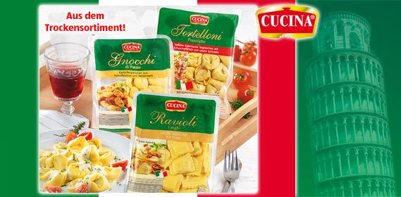 Gefüllte Pasta oder Gnocchi, Juli 2010