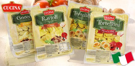 Gefüllte Pasta oder Gnocchi, M�rz 2013