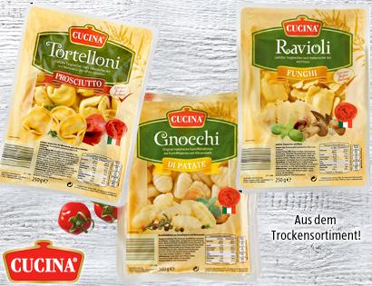 Gefüllte Pasta oder Gnocchi, Juni 2013