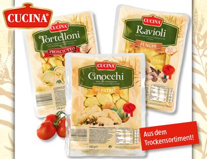 Gefüllte Pasta oder Gnocchi, Januar 2014