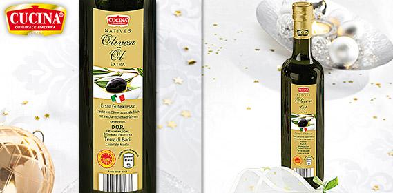 Natives Olivenöl Extra DOP, Dezember 2011