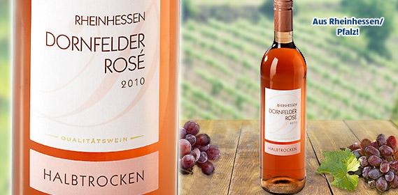 Dornfelder Rosé Rheinhessen/Pfalz QbA, Juli 2011