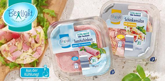 Toastschinken oder Schinkensülze, Fettreduziert, August 2012
