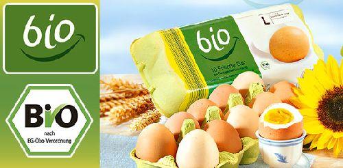 Eier aus ökologischer Erzeugung, Oktober 2007