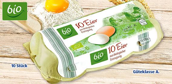 Eier aus ökologischer Erzeugung, Februar 2012