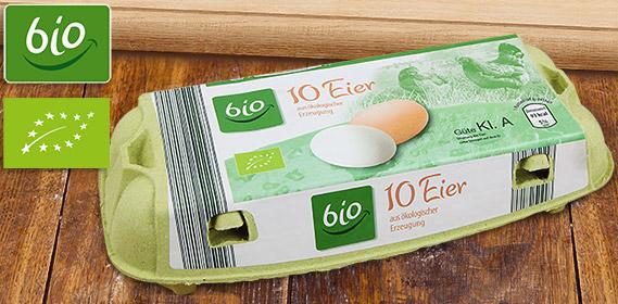 Eier aus ökologischer Erzeugung, Oktober 2012
