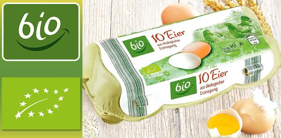 Eier aus ökologischer Erzeugung, Februar 2013