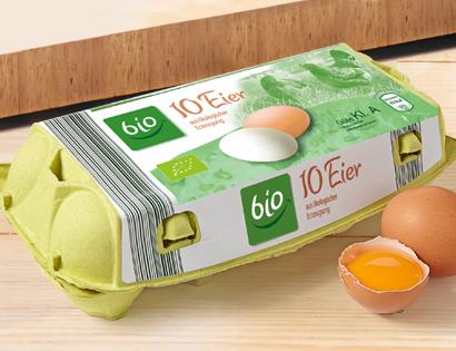 Eier aus ökologischer Erzeugung, Oktober 2013