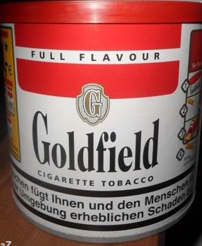 Goldfield Volumentabak, Oktober 2017