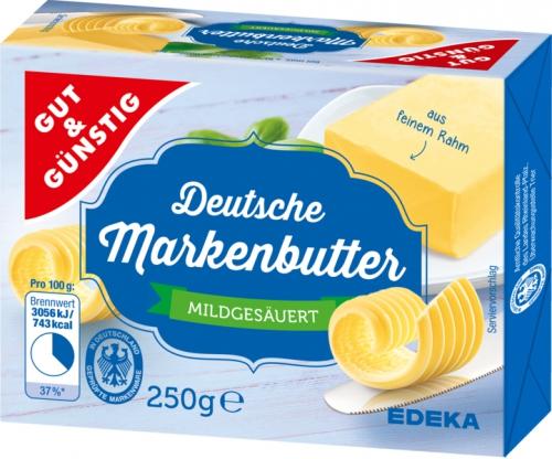 Deutsche Markenbutter, Dezember 2017