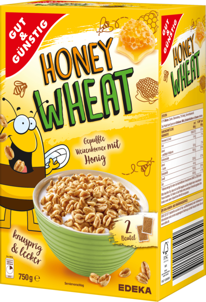Honey Wheat, Dezember 2017