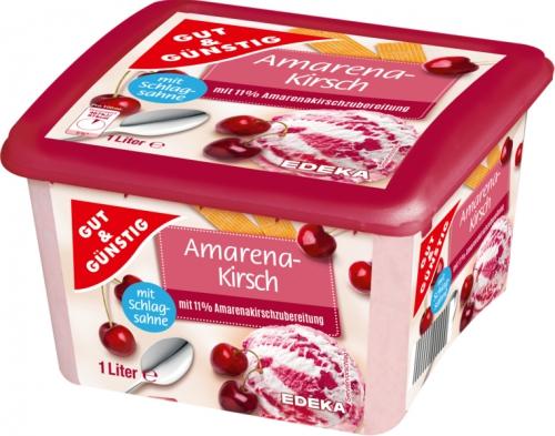 Premium Eiscreme Amarena-Kirsch, Januar 2018