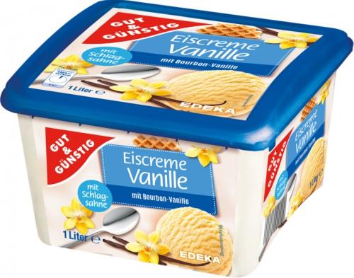 Premium Eiscreme Vanille, Januar 2018