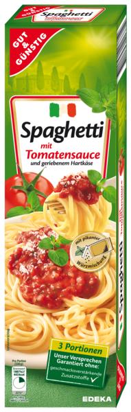 Spaghetti mit Tomaten-Sauce, Dezember 2017