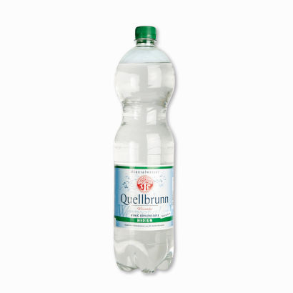 Mineralwasser Medium, Februar 2012