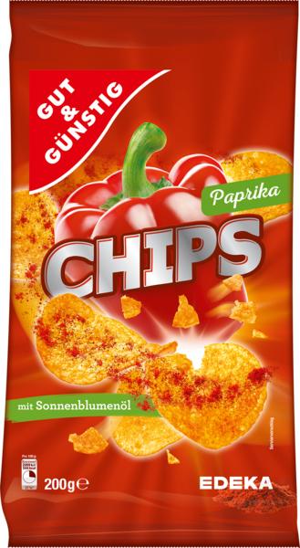 Chips Paprika, Januar 2018