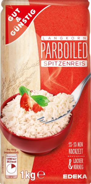 Parboiled Reis, Januar 2018