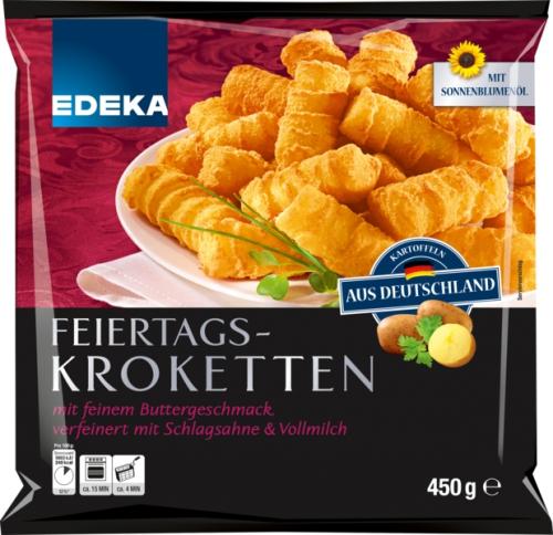 Backofen Kroketten , Dezember 2017