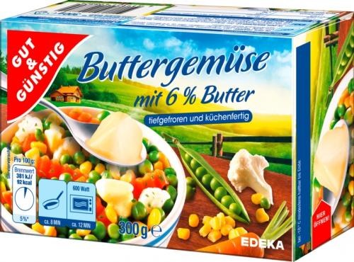 Buttergemüse, Januar 2018