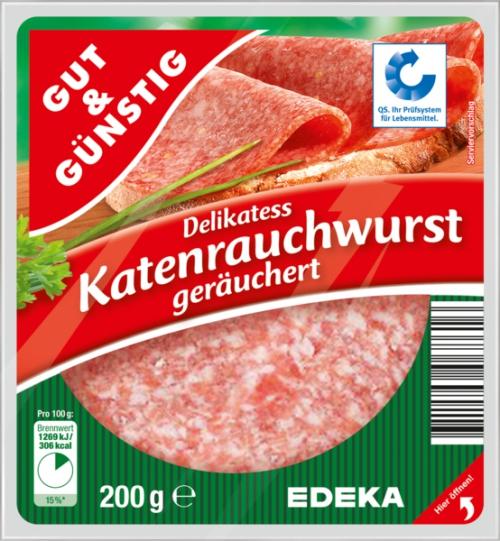 Katenrauchwurst, Dezember 2017