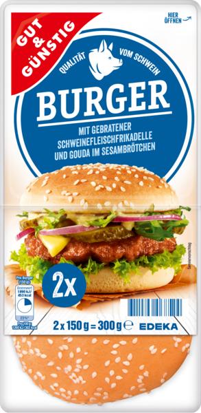 Cheeseburger, 2 Stück, Dezember 2017