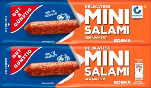 Mini Salami, 2 Stück, Dezember 2017