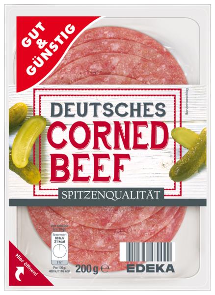 Deutsches Corned Beef, Dezember 2017