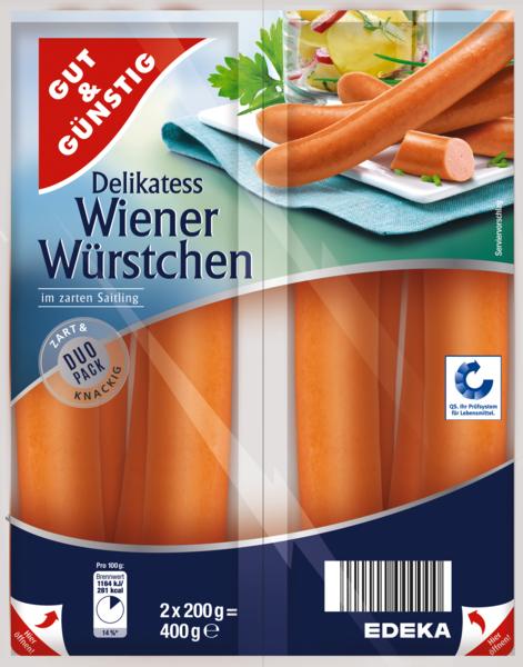 Wiener Würstchen , Dezember 2017