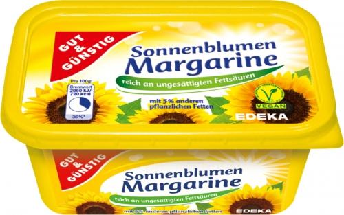 Sonnenblumenmargarine, Dezember 2017