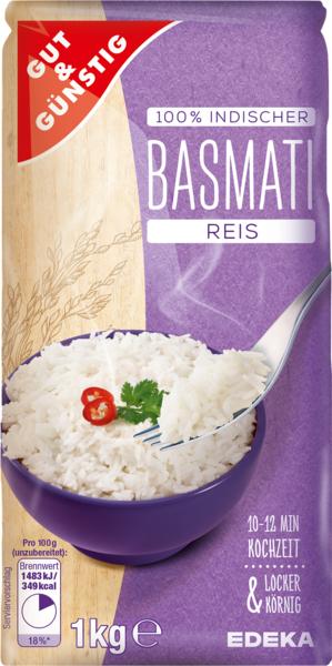 Gut g nstig basmati reis von edeka - Reis kochen tasse ...