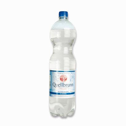 Mineralwasser Classic, 6x1,5 l, Februar 2012