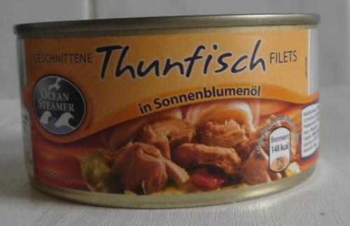 Thunfisch in Sonnenblumenöl, November 2011