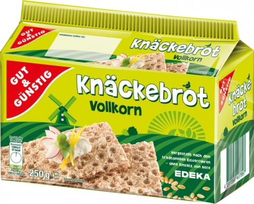 Knäckebrot Vollkorn, Dezember 2017