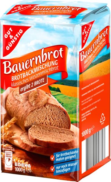 Brotbackmischung Bauernbrot, Januar 2018