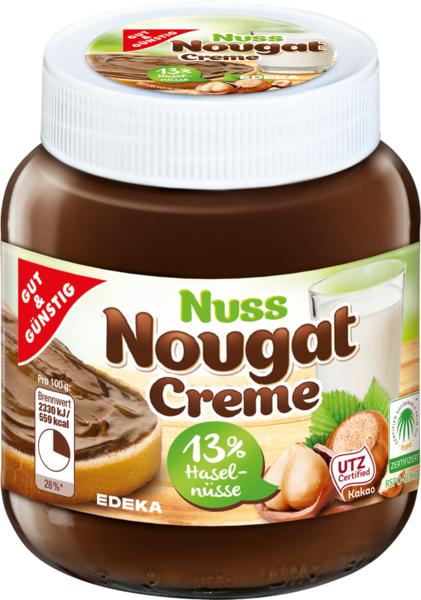 Nuss-Nougat-Creme, Dezember 2017