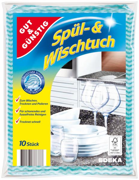 Spül- und Wischtuch, Dezember 2017